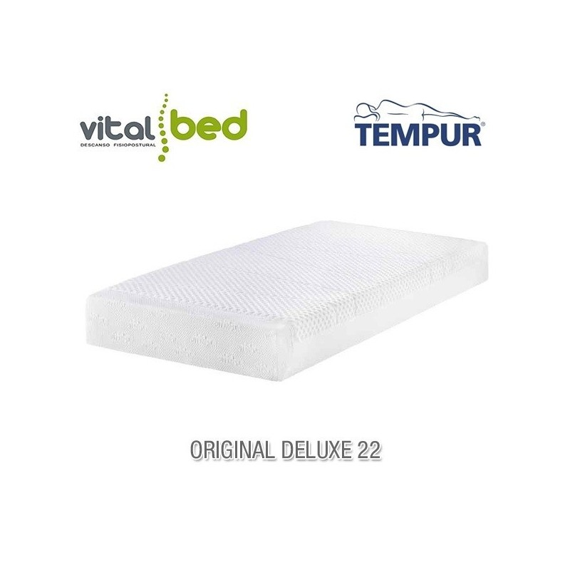 colchon tempur original deluxe 22 vitalbed. Black Bedroom Furniture Sets. Home Design Ideas